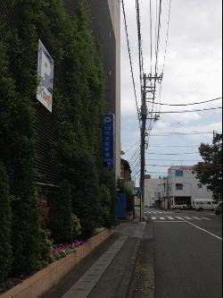 三島市営駐車場から恵比寿整体院へ